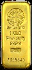 Gold bar 1 kg Heraeus