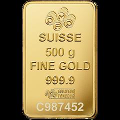 Gold bar 500 g PAMP Suisse