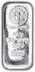 Silberbarren 500 g Heraeus
