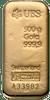 Gold bar 500 g UBS
