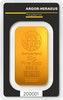 Gold bar 50 g Heraeus
