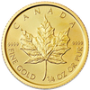 Gold coin 1/4 oz Maple leaf