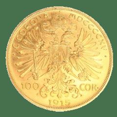 Goldmünze 100 kronen/corona