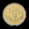 Gold coin 10 x 1 oz The royal arms