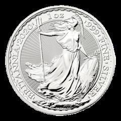 Silver coin 1 oz Britannia