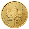 Gold coin 1 oz Maple leaf