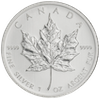 Zilver munt 1 oz Maple leaf