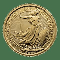 Gouden munt 1 oz Britannia