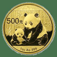 Goldmünze 1 Unze Panda