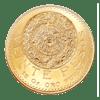 Goldmünze 20 pesos Mexiko Aztec
