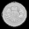 Silver coin 500 x 1 oz The royal arms
