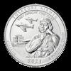Zilver munt 5 oz America the beautiful quarters