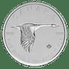 Silver coin Canada Goose